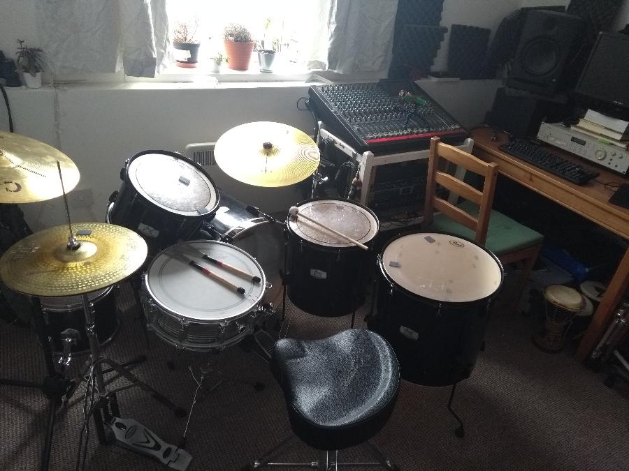 Remote Session Drummer – ARK AUDIO